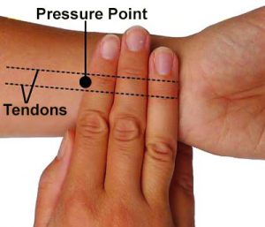 seasickness wrist-bands