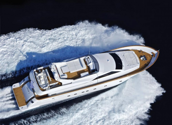 M/Y Gioe Yacht Charters in Greece
