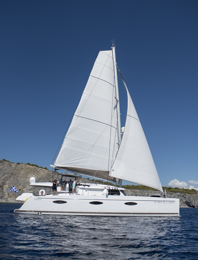 Catamaran Highjinks Yacht Charters in Greece