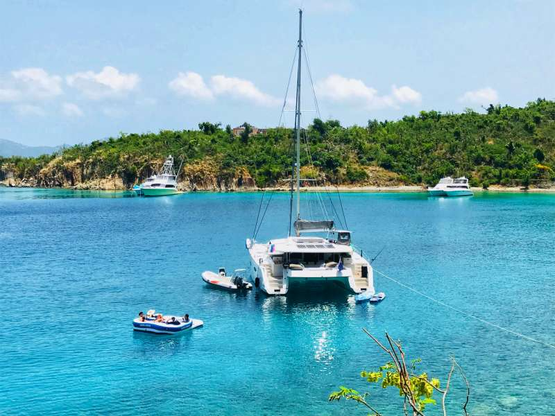Catamaran Slivochka Yacht Charters in the BVI