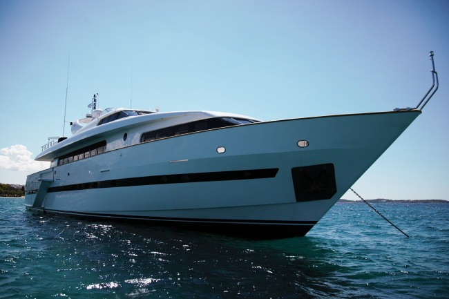 M/Y Project Steel Yacht Charter in Greece