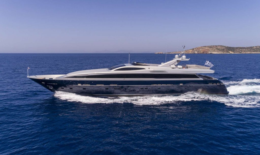 M/Y Billa Yacht Charter in Greece