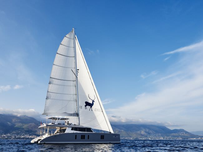 Catamaran Blue Deer Yacht Charter