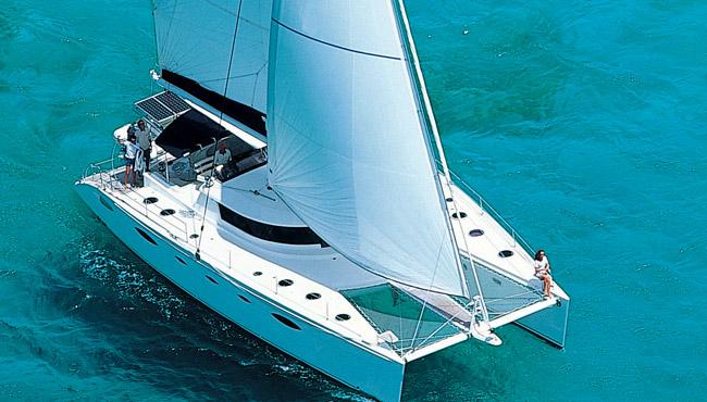 Catamaran yacht charters