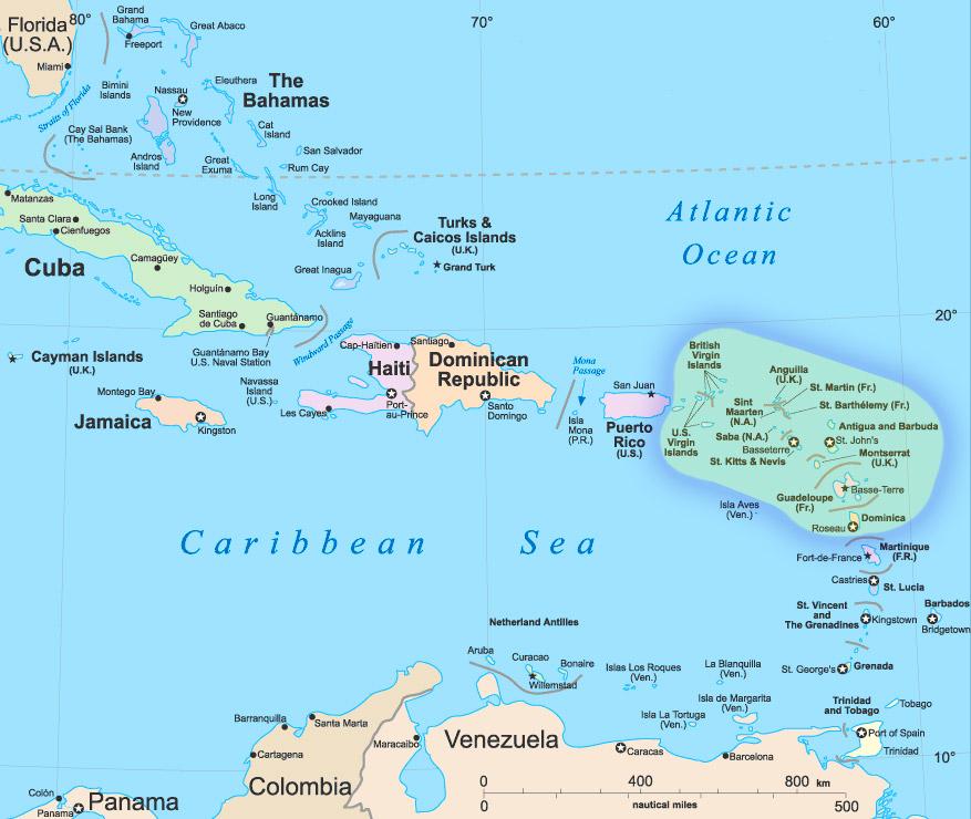 Caribbean Leeward Yacht Charter
