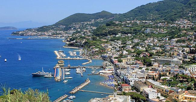 Italy yacht charter - Ischia