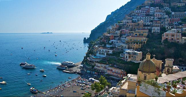 Italy yacht charter - Positano