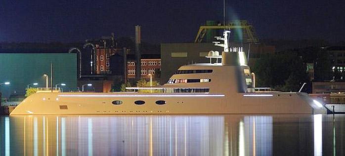 Mega Yacht A