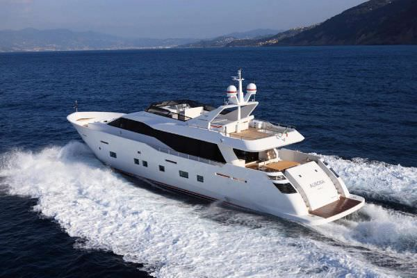 M/Y Aurora Yacht Charters in Greece
