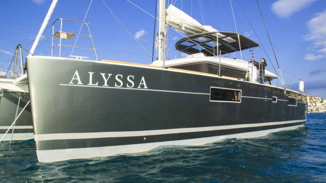 Catamaran Alyssa Yacht Charters in Greece