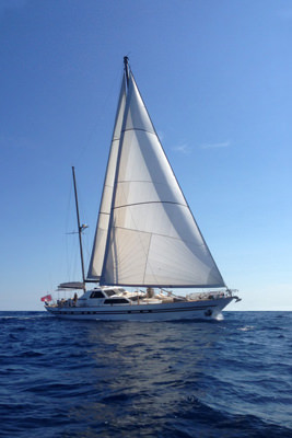 S/Y My Lotty Yacht Charters in Sicily, Italy
