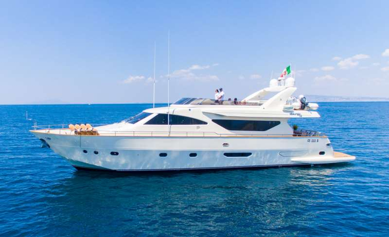 M/Y Riviera Yacht Charters in Naples