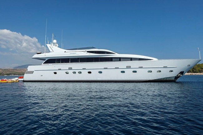 M/Y Tropicana Yacht Charters in Greece
