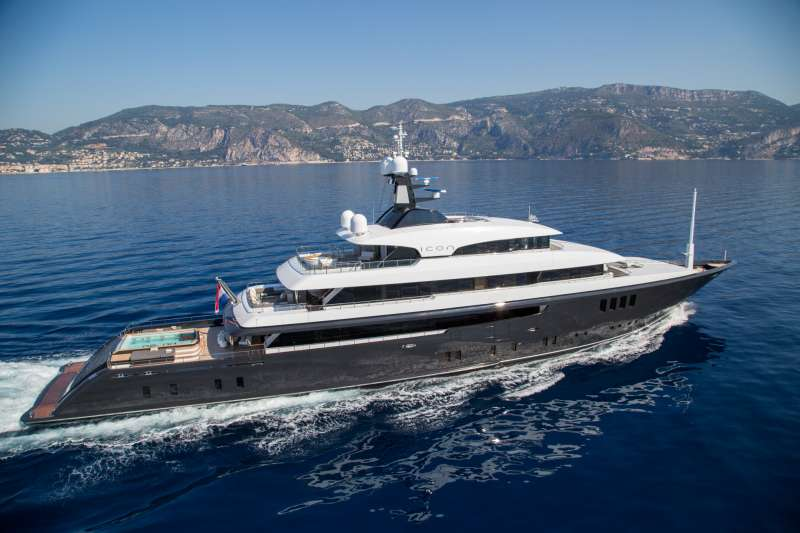 M/Y Icon Yacht Charter