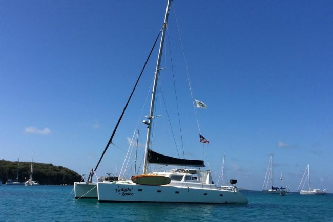 Catamaran Twilight Rodeo Yacht Charter