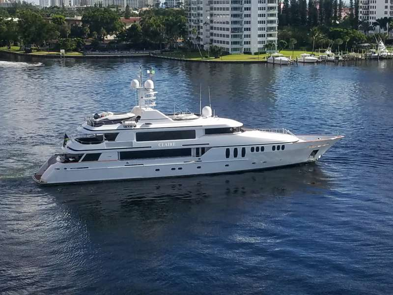 M/Y CLAIRE Yacht Charter