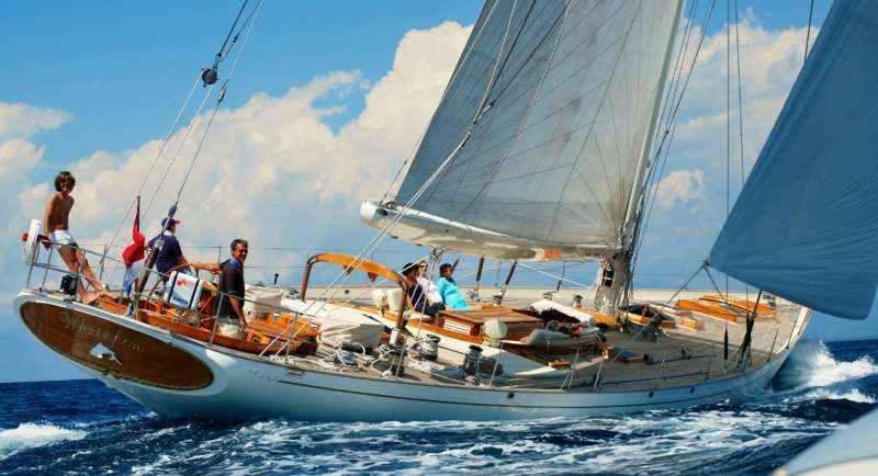 S/Y Whitefin Yacht Charter